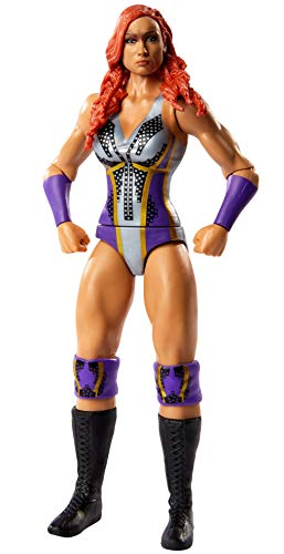 WWE Becky Lynch Basic Series #109 Action Figure in 6-inch Scale with Articulation & Ring Gear