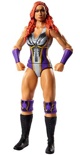 WWE GKY90 - WWE Action Figur (15 cm) Becky Lynch mit realistischen Gesichtszügen, Spielzeug Actionfigur ab 6 Jahren