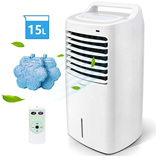 Aigostar - Climatizador evaporativo con mando a distancia,