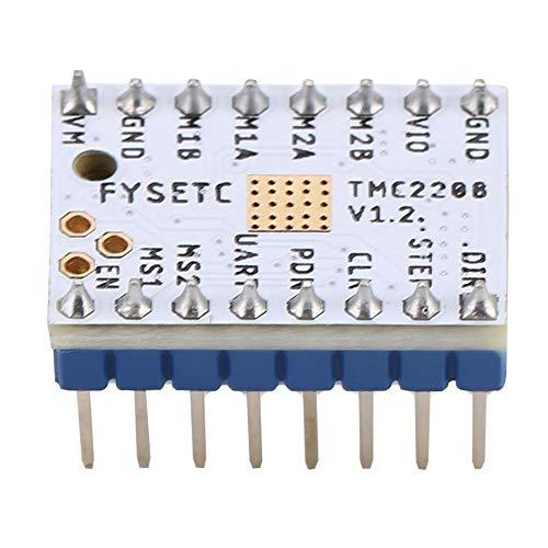 Con pegatina Reprap con accesorio 1A Placa de controlador de motor paso a paso de corriente máxima, controlador de motor paso a paso, TMC2208 / TMC2100 / TMC2130 para(TMC2208)