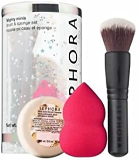 SEPHORA COLLECTION Mighty Minis Brush & Sponge Set, Limited Edition