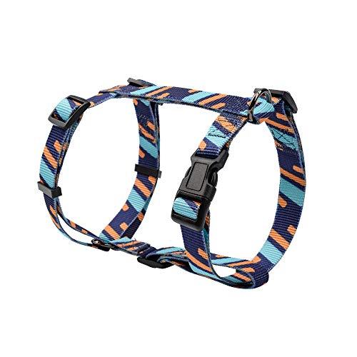 """DYAprWu Verstellbares Hundegeschirr für kleine, mittelgroße und große Hunde, ideal für Hundesport / Training / Laufen, M Chest Girth 16.5""""-27.5"""", Pattern B"""