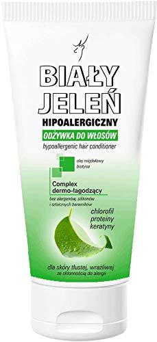 Odżywka do włosów chlorofil włosy tłuste BIAŁY JELEŃ - 200 ml by Polena