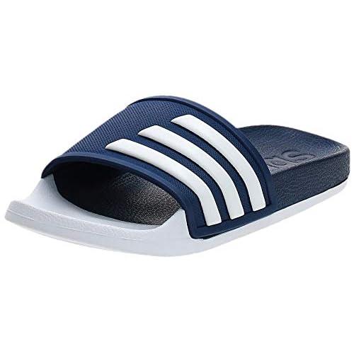 adidas Adilette Tnd, Scarpe da Fitness Unisex-Bambini, Blu (Azuosc/Ftwbla/Ftwbla 000), 36 1/3 EU