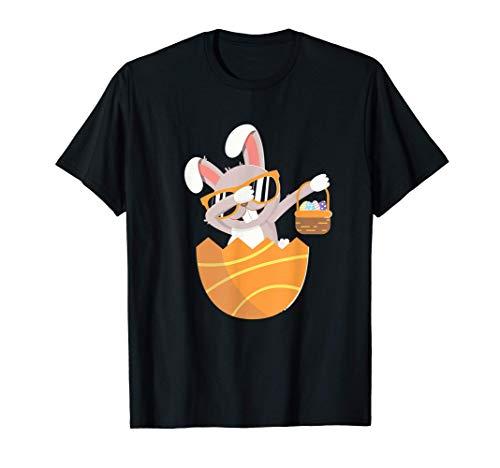 Dabbing Easter Bunny I Uova di Pasqua I Pasqua 2021 Maglietta