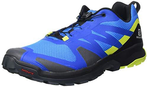 SALOMON Calzado Bajo XA ROGG, Zapatillas de Senderismo Hombre, Bunting/Blac, 42 2/3...