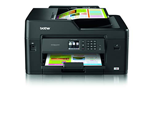 Brother MFC-J6530DW Stampante Multifunzione Inkjet a Colori, A3, con Rete Cablata, Wi-Fi Direct, USB 2.0, Stampa Fronte-Retro, Display Touchscreen, 22 ipm Mono / 20 ipm, Nero