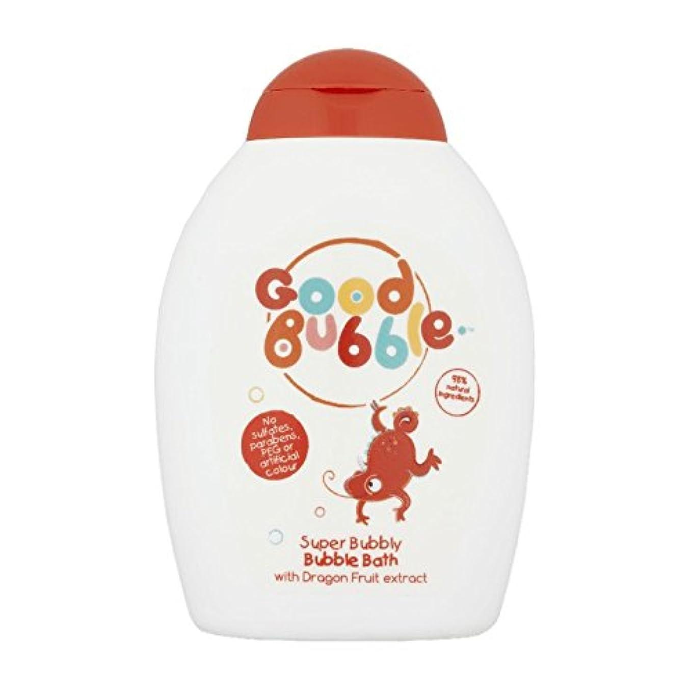 カエル罰する矛盾するGood Bubble Dragon Fruit Bubble Bath 400ml (Pack of 6) - 良いバブルドラゴンフルーツバブルバス400ミリリットル (x6) [並行輸入品]