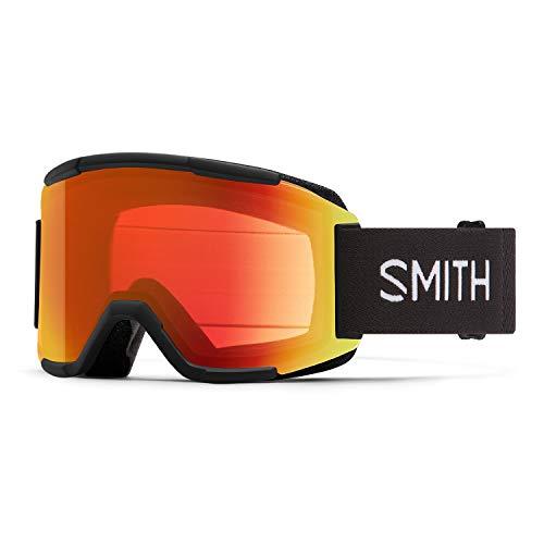 Smith Squad Snow Goggle - Black '21   Chromapop Everyday Red Mirror + Extra Lens