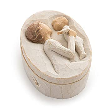 Willow Tree Grandmother Sculpted Hand-Painted Keepsake Box