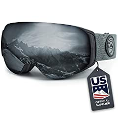 CHANGE YOUR LENS IN UNDER 60 SECONDS- Designed with six rareearth N45 magnets and an integrated clip locking system the Roca ski goggles can be quickly customized in seconds for optimal performance in almost any lightcondition. Simply swap out for ...