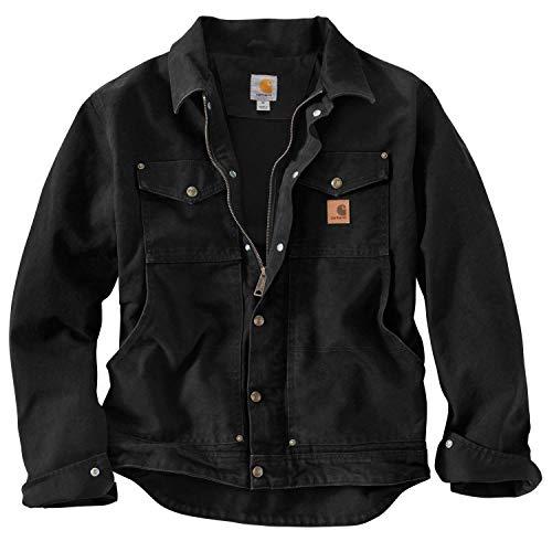 Carhartt 101230 Berwick Jacket - Arbeitsjacke L Schwarz