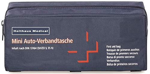 Holthaus Medical Mini KFZ Auto Verbandtasche DIN 13164 Verbandskasten von MBS-FIRE®