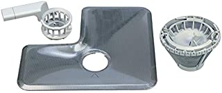 SET filtre tamis fin grossier avec poignée lave-vaisselle Miele 9632790