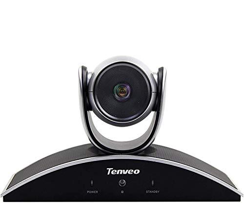 Tenveo VX3 Konferenzkamera 3X Optischer Zoom 1080p Full HD Weitwinkel USB PTZ Webcam mit Fernbedienung fur YouTubeTwitchOBS Live Streaming SkypeZoom Videokonferenzen