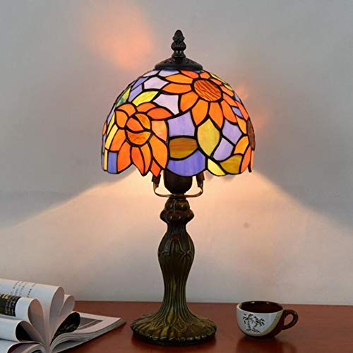 Kwdzlighting tafellamp in Tiffany-stijl, 20 cm diameter, 20 cm