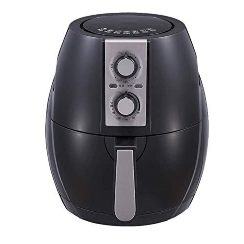 DZX Freidora de Aire con Control de Temperatura, freidora de Aire multifunción para el hogar, 6L, Gran Capacidad, sin Aceite, máquina de Papas Fritas Bajas en Grasa, Exquisita