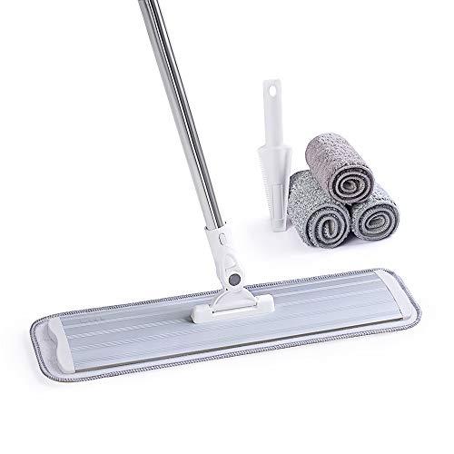 CQT Microfiber Mop Floor Cleaning System, Hardwood...
