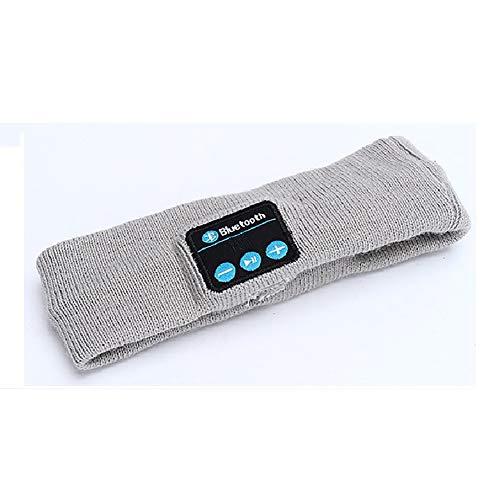 Comtervi Bluetooth Music Sports, Diadema, Auriculares estéreo para Dormir, Diadema con Bluetooth, Altavoz estéreo Incorporado, Funcionamiento, para Deportes y Actividades de Yoga