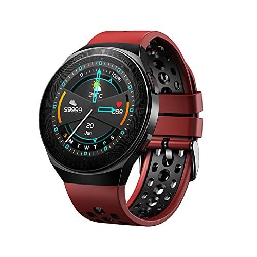 PYAIXF Reloj Inteligente, 1,28 Pulgadas Rastreador De Actividad Física De Alta Gama HR Rastreador De Actividad Monitor De Sueño Reloj Deportivo De Salud Frecuencia Cardíaca 24 Horas Al Día,-Red