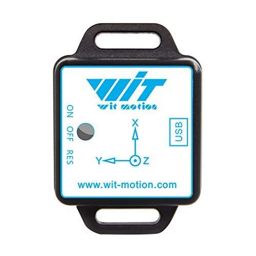 WT901WiFi Conexión inalámbrica PC + Servidor Sensor de 9 ejes Inclinómetro de ángulo de inclinación de 3 ejes + Acelerómetro + Giroscopio + campo magnético ofrece software para PC/Android/Servidor