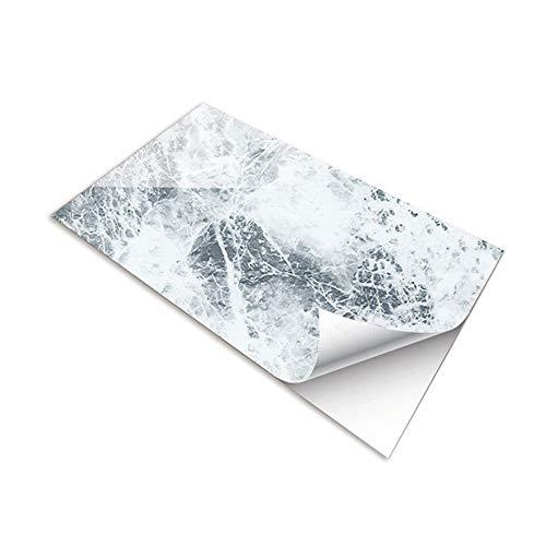 Fupeiwen Adhesivos de Marmoleo, Fondo de Pantalla Autoadhesivos Calcomanías Impermeables para Cocina, Sala de Estar, Baño, Azulejos, 3 Piezas (30 x 60 cm)