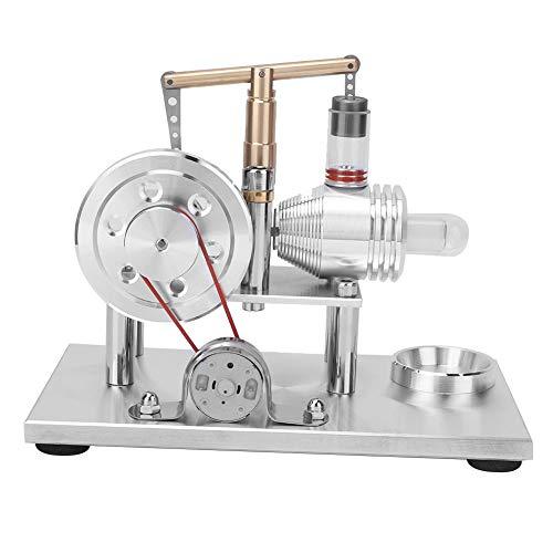 Kit de modelo de motor Stirling, modelo de generador de energía de aire caliente en miniatura, juguete educativo, modelo de generador de energía eléctrica para niños