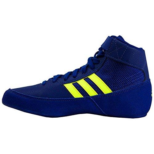 adidas Havoc Junior Wrestling Stiefel, Blau - navy - Größe: 46 2/3 EU