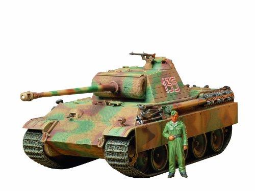 タミヤ 1/35 ミリタリーミニチュアシリーズ No.170 ドイツ陸軍 戦車 パンサーG 初期型 プラモデル 35170