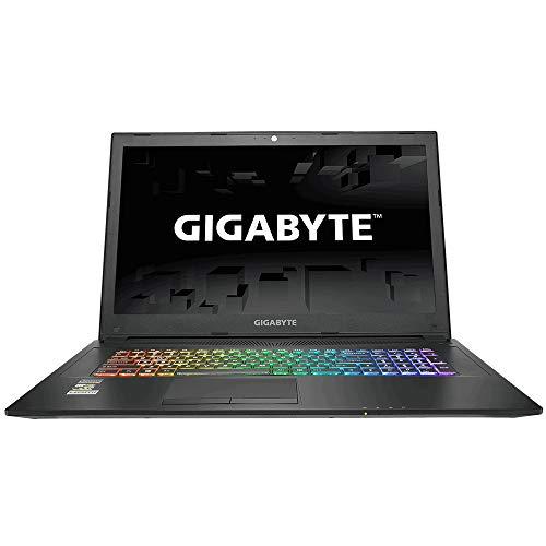 GIGABYTE SABRE17W - 17.3-Inch 120Hz Laptop, Intel i7-8750H Processor, 6GB NVIDIA GTX 1060 Graphics Card, 256GB PCIe SSD + 1TB HDD, 16 GB RAM, Windows 10