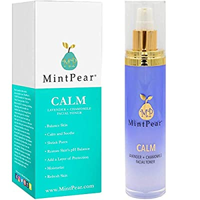 Rose Water Facial Toner for Acne| Alcohol-Free | Facial Toner for Aging Skin - Helps Unclog Pores - Decrease Acne- Hydrating Primer & Setting Hydrosol for Sensitive Skin by MintPear®