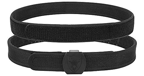 KRYDEX IPSC USPSA IDPA 3-Gun Competition Belt High Speed Shooting Belt Inner and Outer Belt (Black, M(35'-38'))