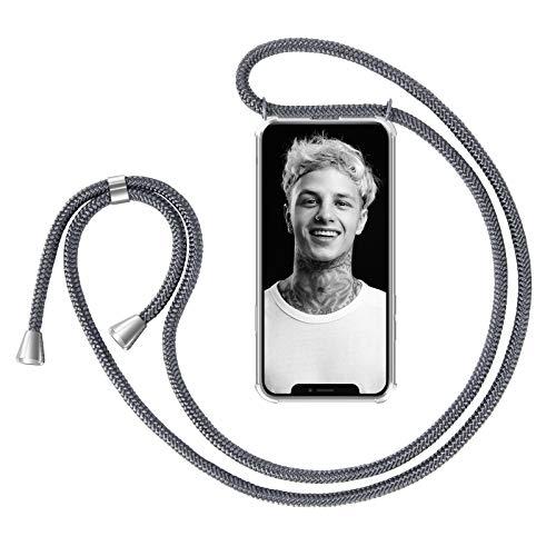 ZhinkArts Handykette kompatibel mit Apple iPhone X/iPhone XS - 5,8