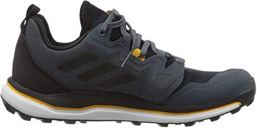 adidas Herren Terrex Agravic Traillaufschuh, Tech Indigo/Core Black/Legend Ink, 39 1/3 EU