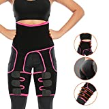 1. Enjoyee Waist and Thigh Trainer for Women, 3-in-1 Thigh and Waist Trainer with Adjustable High Waist Design, Butt Lifter Thigh Trimmer for Women Plus Size Weight Loss Everyday Wear Fitness Exercise