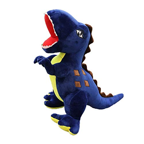 WJTMY Plush toy - Bed Time Stuffed Animal Toys, Cute Soft Plush Tall Plush Dinosaur Stuffed Animal (Color : Blue, Size : Large)