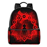 IUBBKI Mochila lateral negra Mochilas informales Anime & Dragon'S Sin Of Wrath Classic Student School Bag School Cycling Leisure Travel Camping Outdoor Backpack