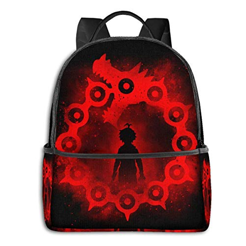 XCNGG Anime Dragon's Sin of Wrath Classic Student School Bag School Cycling Leisure Travel Camping Outdoor Backpack