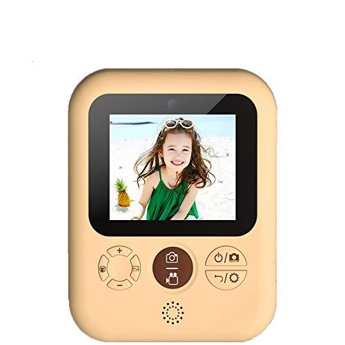 JEPOD Sofortbildkamera für Kinder Druckkamera 1080P Digitalkamera für Kinder Fotokamera Spielzeug Geburtstagsgeschenk für Mädchen Jungen (Drucker und TF-Karte)