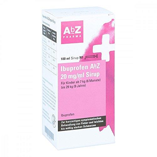 Ibuprofen AbZ 20 mg/ml Sirup für Kinder ab 7kg, 100 ml