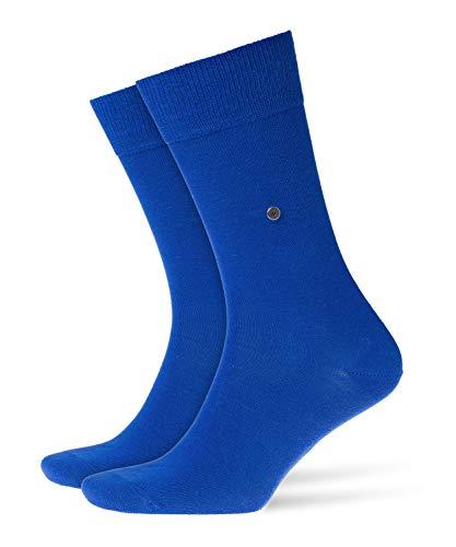 Burlington Herren Lord M SO Socken, Blickdicht, Blau (Deep Blue 6046), 40-46 (UK 6.5-11 Ι US 7.5-12)