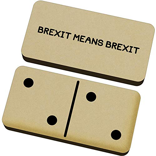 Stamp Press 'Brexit Means Brexit' Domino-Spiel und Box (DM00000097)
