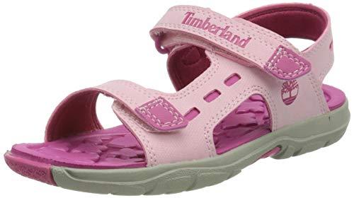 Timberland Jungen Unisex Kinder Moss Jump 2 Strap Sa(Toddler) Sandalen, Rosa Light Pink, 26 EU