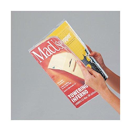 ノーブランド 透明ブックカバー A4 1パック(10枚)