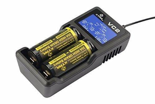 Xtar VC2Ladegerät mit LCD-Display