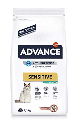 Advance Advance Sensitive Adult (Sterilized) 1.5 Kg - 1500 Gr