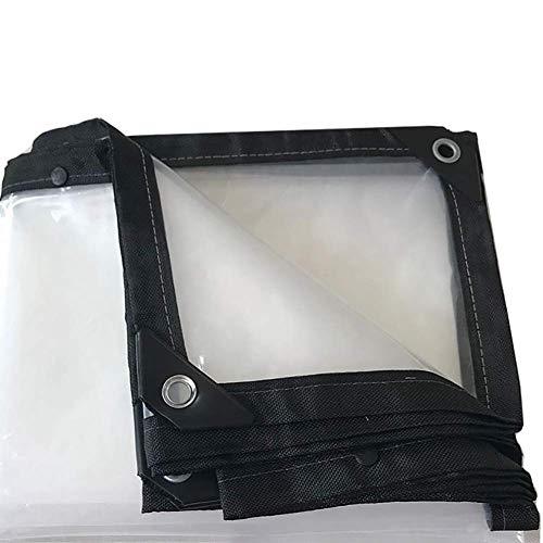 Dekzeil transparant PE waterdicht geïsoleerd buiten vloerbedekking scheurvast, dikte 0,13 mm