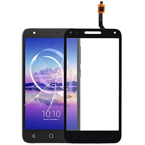 Nuevas Piezas de Repuesto de teléfonos Inteligentes Panel táctil for Alcatel U5 3G 4047D 4047G 4047 OT4047 OT4047D (Color : Black)