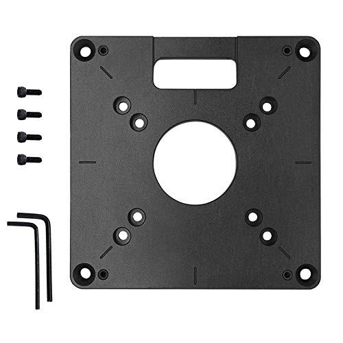 Router Platte Tisch Frästisch Fräser Tischplatte Einlegeplatte Rot Universal Trimmmaschine Flipboard für Holzbänke Router Tischplatte Holzbearbeitung Bänke