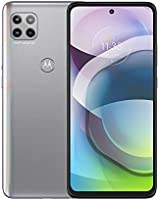 Motorola Moto G 5G | Unlocked | International GSM Only | 6/128GB | MP Camera | 2020 | Frosted Silver | NOT Compatible...